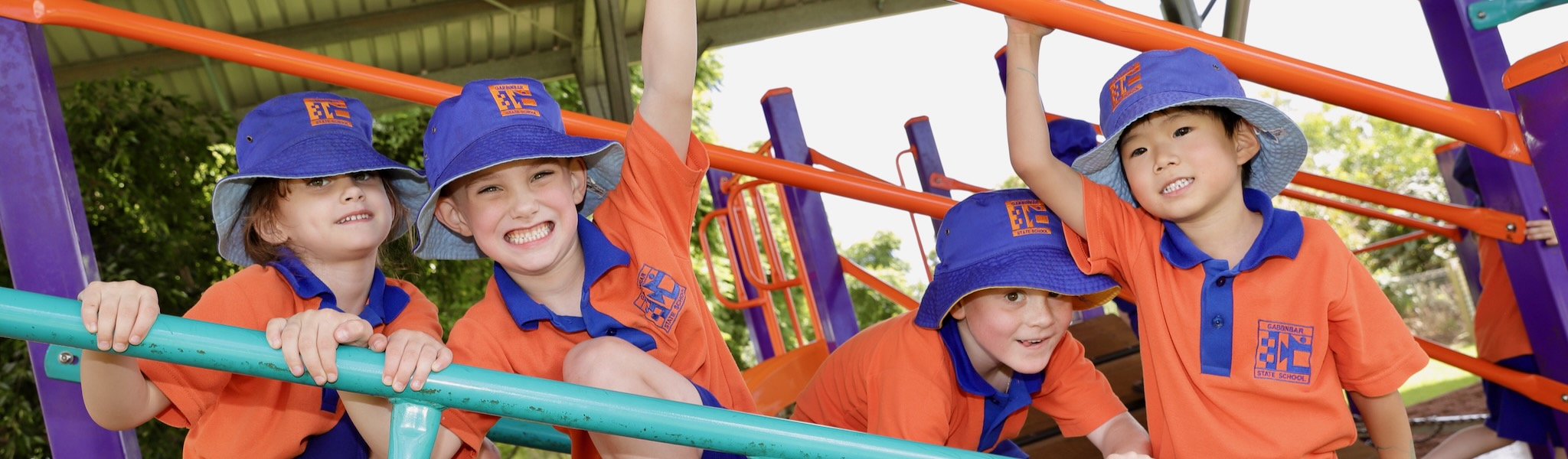 Gabbinbar State School students singing in choir